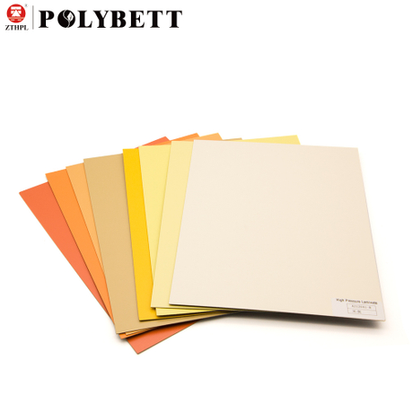 HPL 0.6mm high pressure laminate sheet for MDF surface