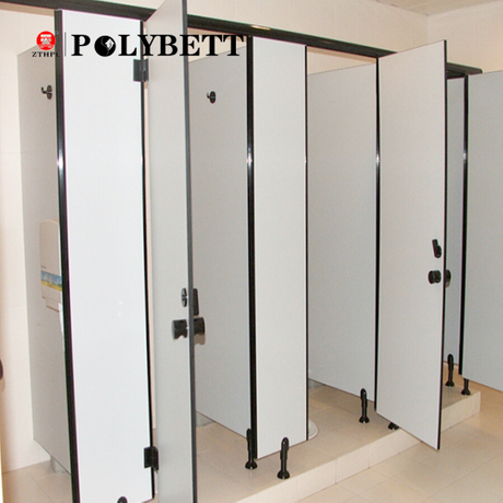 6-18mm Hpl Compact Laminate, Public Hpl Toilet Cubicle