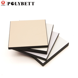 Waterproof And Fireproof 4mm Hpl Wall Panel Compact Laminate for Interior Wall Cladding