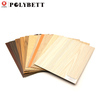 Woodgrain Aluminum High Pressure Laminate 0.8mm Thick Hpl Sheet for Furniture Door with Good Price