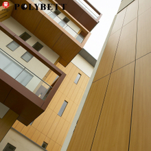 Manufacturer HPL Cabinet Laminate Sheets Exterior Wall Panels, Outdoor Compact Exterior Wall Panel Design