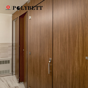 18mm Waterproof And Fireproof Wood Glossy Hpl Compact Laminate Board for Toilet Partition