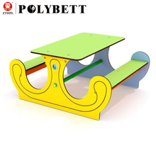 Kids Outdoor Playground Exterior Panels Usage Anti-uv Compact Board Hpl Countertops Tables