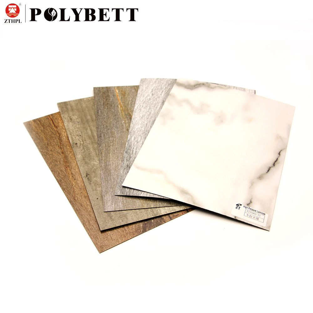 High Gloss Interior Decorative 4mm Hpl Compact Laminate Sheets for Bedroom Wall Panel