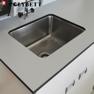 13mm Chemical Resistant Compact Laminate for Laboratory Locker Table Top