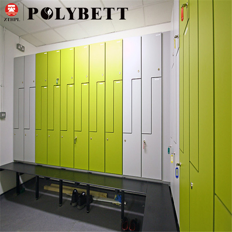 Polybett Easy Clean Phenolic Compact Hpl Laminate for Locker System