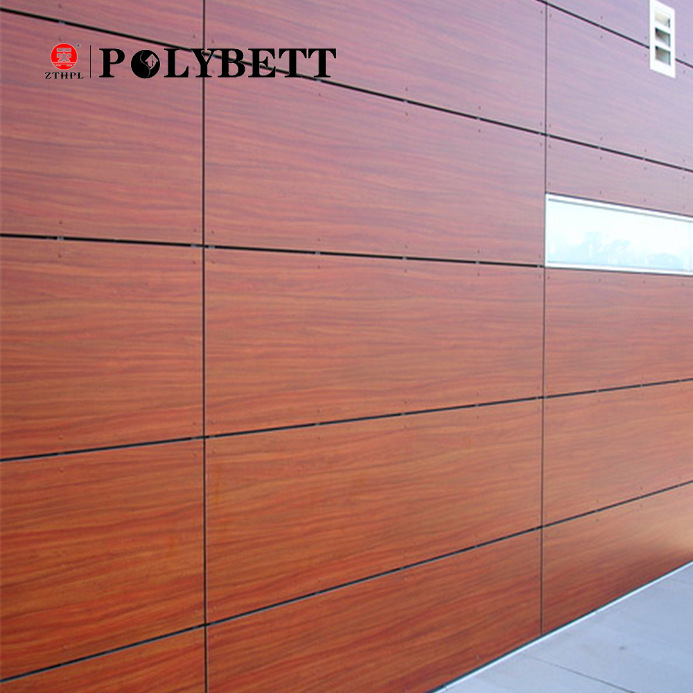 4mm 6mm 8mm thickness Exterior Wall Laminates/hpl Compact Board